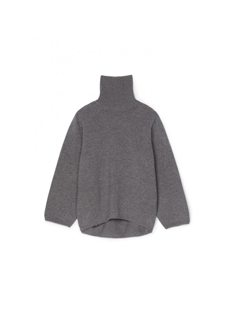 toteme cambridge sweater grey melange